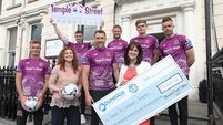 Dundalk's third kit initiative raises €7k for Temple Street Hospital