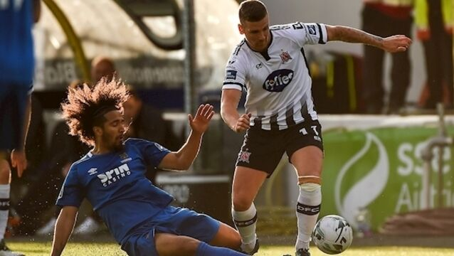 Eight wins in a row for Dundalk with victory over Waterford FC