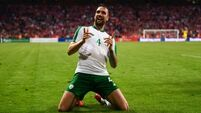 Shane Duffy: 'Still a lot of improvement but we tried to play more and press Danes'