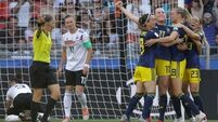 Sweden stun Germany to reach Women's World Cup semis