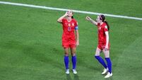 Storm in a teacup? There was quite a reaction to Alex Morgan's goal celebration against England