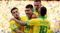 Brazil cruise into quarter-finals of the Copa America with 5-0 victory