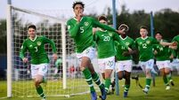 Andrew Omobamidele strikes late to secure a point for Ireland's U-17s