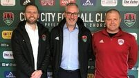 Frank Kelleher appointed Cork City manager