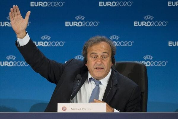 Michel Platini was the head of UEFA until 2015 (John Walton/PA).