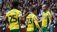 Norwich clinch Championship title thanks to late goal against Villa