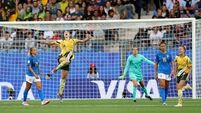Australia fight back to claim stunning win over Brazil