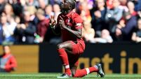 Mane dismisses Madrid links, insists he's 'very happy' at Liverpool