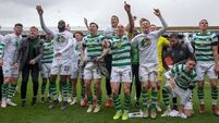 Celtic win eighth straight Scottish Premiership title
