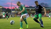 Cork City suffer fourth league defeat as Shamrock Rovers prove superior at Turner's Cross