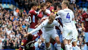 FA charges Leeds' Patrick Bamford with 'successful deception of a match official' during Villa game