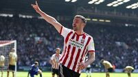 Enda Stevens' goal helps boost Sheffield United's promotion prospects