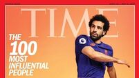 Liverpool's Salah champions women's equality as he is named in TIME 100