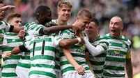 Simunovic moves Celtic closer to title on poignant day at Parkhead