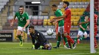 Parrott scores winner on Ireland Under-21s debut