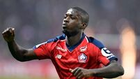 Arsenal sign Nicolas Pepe from Lille for club-record fee