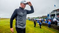 Waterford's Robin Dawson uses knowledge of the course to get within two shots of Irish Open lead