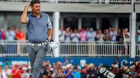 Superb Harrington flies to the top of the Irish Open leaderboard