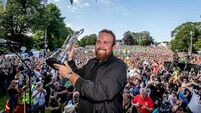 Thousands in Clara as Shane Lowry receives a hero's welcome