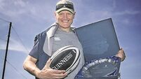 Joe Schmidt honoured for contribution to Irish rugby
