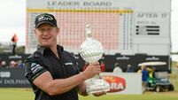 Jamie Donaldson targets Portrush return after claiming Scottish Open lead