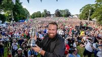 Clara brought to a standstill as thousands welcome Shane Lowry home