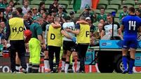Joe Schmidt gives upbeat assessment about Joey Carbery's injured ankle