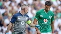 Murray injured as Ireland thrashed by ruthless England