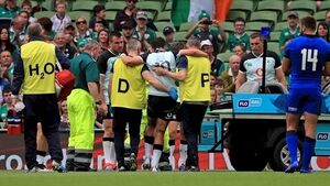 Schmidt hoping injured Carbery can face England