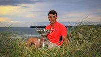 Sean Desmond remaining focused for Irish Close at Ballybunion