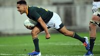 South Africa hold New Zealand to draw thanks to late Herschel Jantjies try