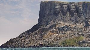 Antrim cliffs become 'Mount Rushmore of golf' ahead of The Open
