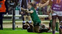 Friend hails Carty's late score as Connacht sealed bonus point win over Benetton