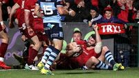 Bonus as Munster turn the tables on Cardiff