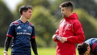 Murray, Earls and Carbery set for return to training in boost for Munster