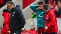 Munster sweat fitness of three backline stars ahead of play-offs