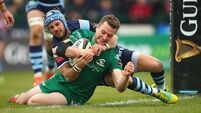 Jack Carty on four-man shortlist for Players' Player of the Year Award