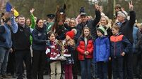 Pics: Tiger Roll returns to Ireland after retaining Grand National