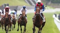 Robert Havlin reatins Mehdaayih mount in Oaks at Epsom