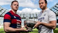Con looking to go one better than last year as they meet Clontarf in AIL decider