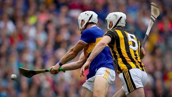 Tipperary's Niall O'Meara scores a goal.
