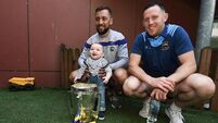 Pics: Tipp's All-Ireland winning hurlers begin celebrations by visiting two Children's Hospitals