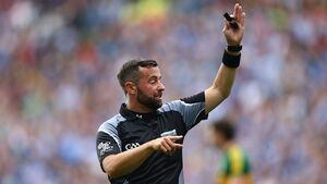 David Gough to referee Dublin-Kerry All-Ireland final