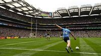 Rock misses last-gasp free as Dublin and Kerry draw heart-stopping All-Ireland