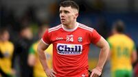Seán Powter to start first game for Cork in 14 months