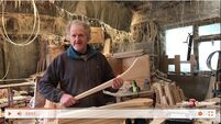 UL Video series: It's time Ireland recognised the artistic and cultural merit of hurley makers like Willie Bulfin