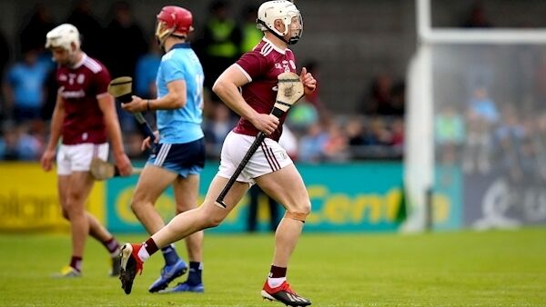 Joe Canning comes onto the field. Picture: INPHO/Ryan Byrne