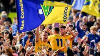 The army 'wouldn't have stopped' early pitch celebration from Roscommon fans