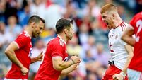 Tyrone overcome Cork in second half to secure second Super 8 win