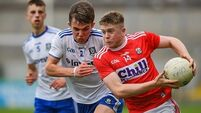 Cork hold off Monaghan comeback as quest for minor title remains on course